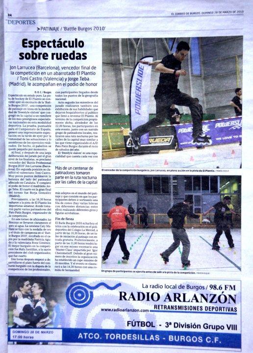 Battle Burgos 2010